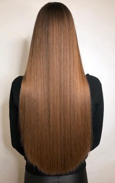 Do you want hair care tips? Long Dark Hair, Very Long Hair, Beautiful Long Hair, Gorgeous Hair, One Length Hair, Long Brunette, Hair Quality, Silky Hair, Dream Hair