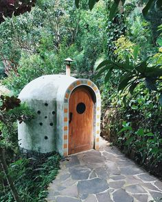 87 Likes, 4 Comments - Casa Paloma Bamboo Village, Lake Atitlan, Sweat Out, Steam Room, Perfect Place, Bird, Places, Outdoor Decor, House