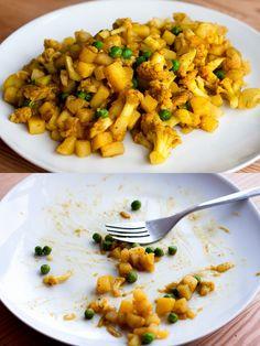 Opskrifter på 200-300 kalorier (til fastedagene)