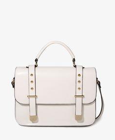 Metal Accent Shoulder Bag | FOREVER21 - 1027705716- WANT