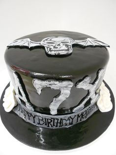 I going by birthday cake for this year... I may not eat it...lol -Avenged Sevenfold Cake