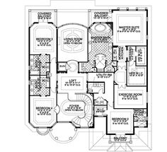 1252316a41bcefc250c5377eb0378c0b monster house nd floor first floor plan of the robertson house plan number 1127 house,Two Master Suite House Plans
