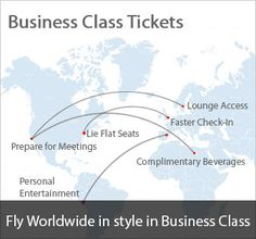 business class ticket perks