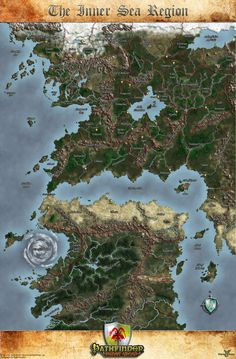 The Inner Sea Region Map by MarkonPhoenix on DeviantArt