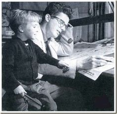 Hank Ketchum and his own son Dennis in 1920~~~