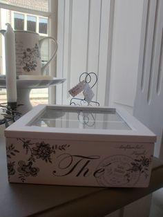 GreenGate Tea box Edith