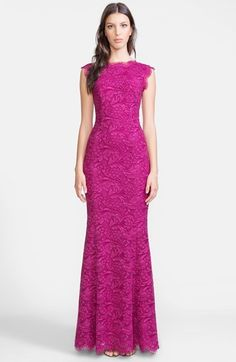 Dolce&Gabbana Lace Trumpet Gown #Evening #Dresses #Gowns #Fashion #Style #NYE2014