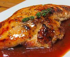 Receta de Pechuga de pavo en salsa de guayaba