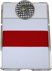 BAMA Note Pad with Houndstooth Elephant Medallion