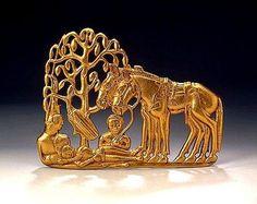Belt Plaque, 5th - 4th century BC. Western Siberia, Russia.