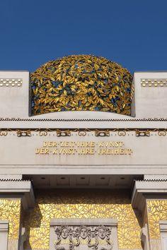 Art nouveau à Vienne : Gustav Klimt et le Sécessionnisme Architecture Art Nouveau, Art And Architecture, Gustav Klimt, Otto Wagner, Imperial Palace, Story Setting, Le Palais, Vienna, Art History
