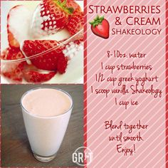 Tips, tactics, and also quick guide with respect to obtaining the most effective end result and making the max perusal of Nutribullet Smoothies Recipes Strawberry Shakeology Recipes, Shakeology Flavors, Shakeology Shakes, Vegan Shakeology, Beachbody Shakeology, Vanilla Shakeology, Herbalife Shake, Protein Powder Recipes, Protein Shake Recipes
