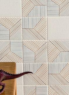 TRATTI  COLLECTION / DESIGN INGA SEMPÉ / BY MUTINA / YEAR 2014 | #designbest #tiles |