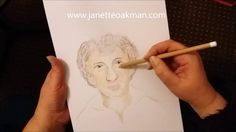 Do You Know Who This Is? Spirit Portrait by Psychic Artist Janette Oakman 14