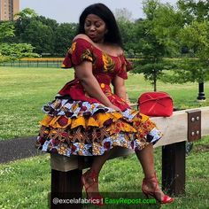 latest ankara styles for wedding: 2019 most beautiful and Lovely Ankara Styles for All Ladies Short Ankara Dresses, Ankara Dress Styles, African Fashion Ankara, Latest African Fashion Dresses, African Dresses For Women, African Print Dresses, African Print Fashion, African Attire, African Style