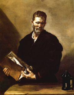 """Jusepe de Ribera Diogenes (1630s)  Diogenes of Sinope,one of the founders ofCynicphilosophy,used to stroll about in full daylight with alamp; when asked what he was doing, he would answer, """"I am just looking for an honest man.""""Diogenes looked for a human being but reputedly found nothing but rascals and scoundrels."""