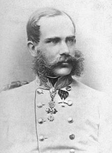 Franz Joseph I. im Alter von 35 Jahren (1865) (at the age of 35 years)
