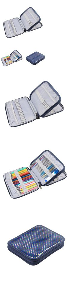 Totes and Cases 83927: Organizer Case For Interchangeable Circular Knitting Needle Crochet Hooks New -> BUY IT NOW ONLY: $47.78 on eBay!