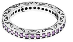 Pandora Jewelry Purple Cz Eternity