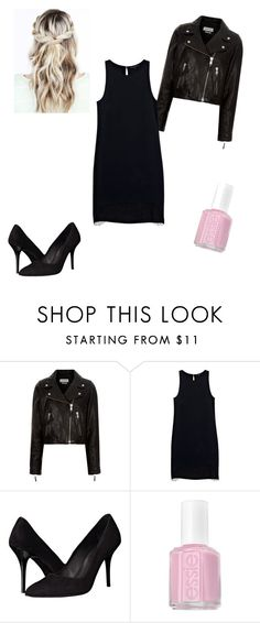 """""""New Years Eve"""" by johanne-moen on Polyvore featuring Étoile Isabel Marant, Justicia Ruano, The Kooples and Essie"""