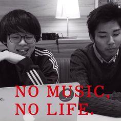 no music no life #今日のながみー