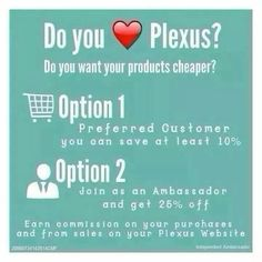 I am so happy I signed up. 24 lbs gone. I Love my Plexus Products. http://plexusslim.com/jferguson82