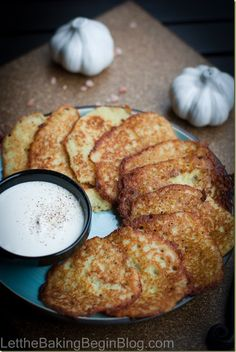 Potato Pancake or Latkes - super easy and delicious recipe for crispy on the outside and soft on the inside pancakes that are made with grated potatoes, egg and flour.