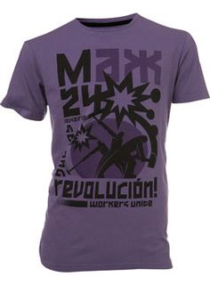 Burton Purple `ax 24`Printed T-Shirt Puple t-shirt with Max 24 chest print.Garment Information* 100% CottonWash Care* Wash dark colours separately* Do not tumble dry* Machine washable. Save energy. Wash at 30 degrees http://www.comparestoreprices.co.uk//burton-purple-ax-24printed-t-shirt.asp