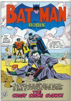 Batman splash by Dick Sprang