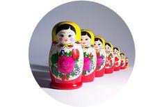 adoro FARM - bonecas russas
