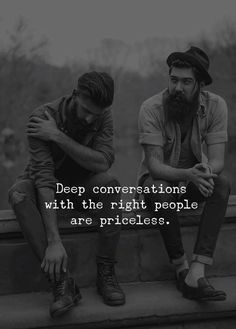 Deep conversation with the right people.. via (http://ift.tt/2FFanCx)