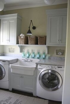 In my dreams to have a laundry like this...