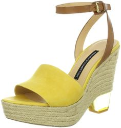 French Connection Women's Abby Sandal ** Awesome product. Click the image : Wedges Shoes