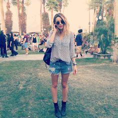Arielle Vandenberg @arielle COACHELLA...YOU P...Instagram photo | Websta (Webstagram)