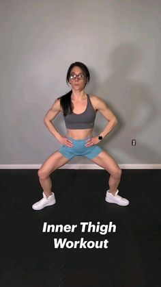 Gym Workout Videos, Gym Workout For Beginners, Fitness Workout For Women, Women's Fitness, Pilates Workout, Butt Workout, Fitness Motivation, Workouts, Thigh Exercises
