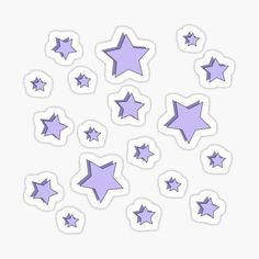 Stickers Cool, Preppy Stickers, Tumblr Stickers, Star Stickers, Printable Stickers, Laptop Stickers, Griffonnages Kawaii, Homemade Stickers, Bullet Journal Ideas Pages