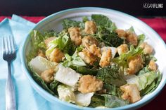 popcorntofucaesarsalad3_veganfling by veganfling, via Flickr