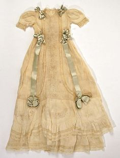 Christening ensemble | American | The Met