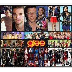 """""""Glee!"""" by beccalove1996 on Polyvore"""
