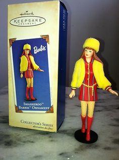 Smasheroo Barbie Ornament Hallmark Keepsake 2004 Depicts Swinging London | eBay