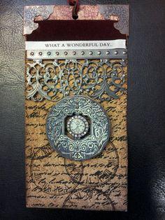 created by Diane K, wonderful day tag