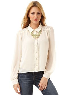 Melissa Blouse at Alloy Alloy Pin it to win it