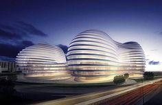 Chaoyangmen Beijing SOHO III by Zaha Hadid Architects