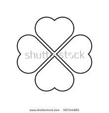 Image result for 4 leaf clover heart tattoo