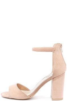 74cd005a04c80 Sidecar Cutie Taupe Suede Ankle Strap Heels