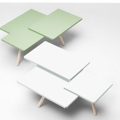 Tablefields Side Table - White - alt_image_one