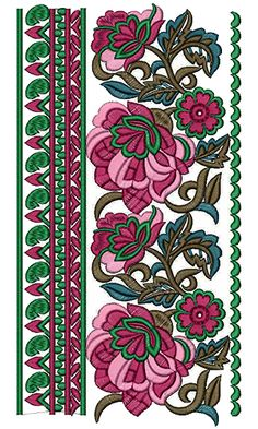 Lace Embroidery Design 12677
