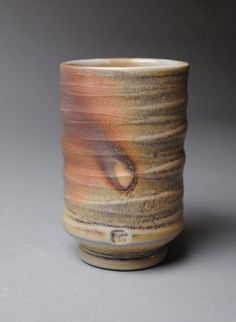 Clay Tumbler Wood Fired Q43 by JohnMcCoyPottery on Etsy, $26.00