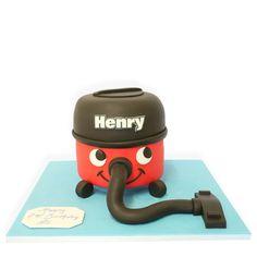 Henry Hoover Birthday Cake!