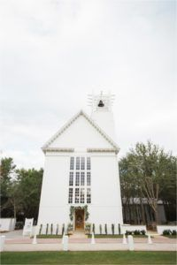 Seaside Chapel Wedding // 30A destination wedding from Leslie Hollingsworth Photography in Seaside Florida
